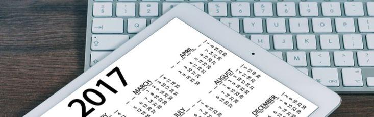 Jahresplanung Kalender